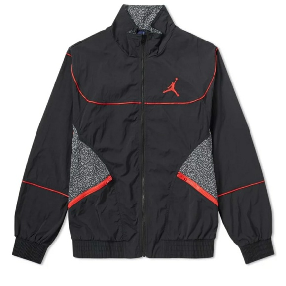 cd0aa1afbb8617 NWT JORDAN AJ3 VAULT JACKET BLACK CEMENT